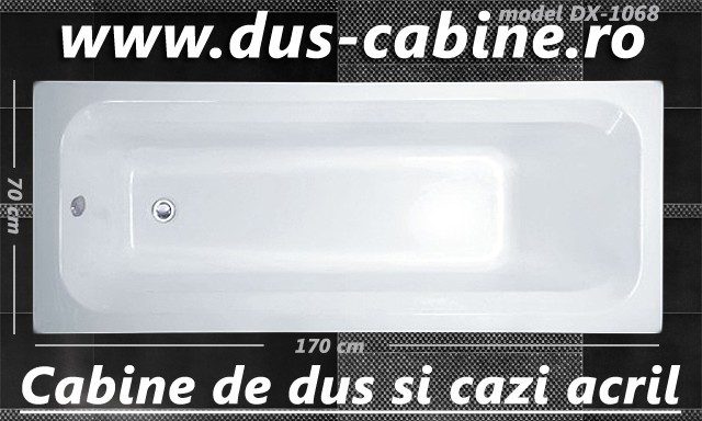 Cada baie ieftina acril 170 - 70 - 40 - DX-1068